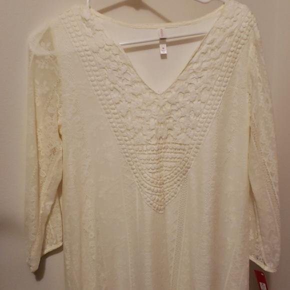 Xhilaration Dresses & Skirts - Ivory summer dress